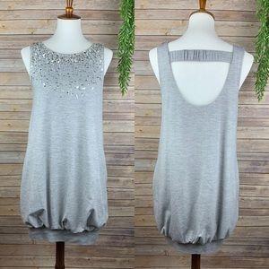 BCBGMAXAZRIA | Sequin Bubble Dress